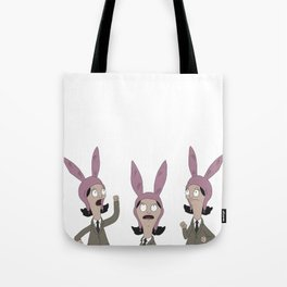 3 Little Louise' Tote Bag