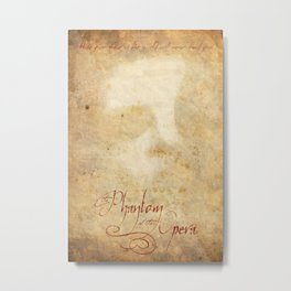 Phantom of the Opera Metal Print