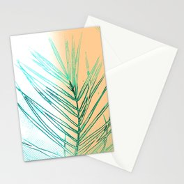 Palm Leaf in the Dawn Stationery Cards
