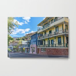 Streets of Jerome Metal Print