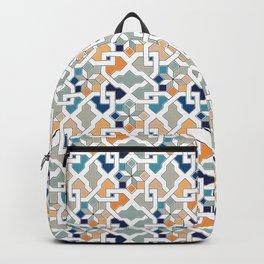 Geometric Pattern - Oriental Design Backpack