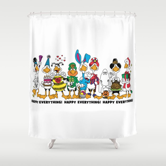 Happy Everything! Shower Curtain