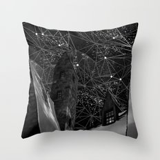 geometry of life Throw Pillow