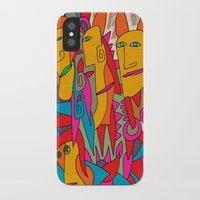 rabbits iPhone & iPod Cases featuring - rabbits - by Magdalla Del Fresto