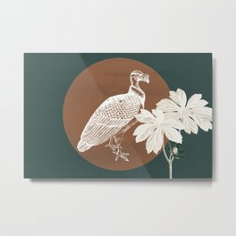 Life in Life Out Lifelike Glow Metal Print