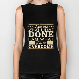 Celebrate Recovery Tshirt Christian Cross Quote Biker Tank