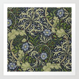William Morris Seaweed Pattern Art Print