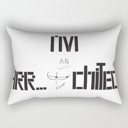 Architecture, architect Rectangular Pillow