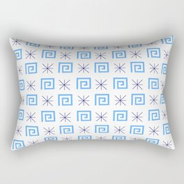 Antic pattern 6- greek labyrinth Rectangular Pillow