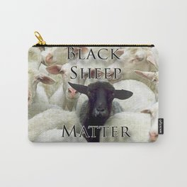 Black Sheep Matter Carry-All Pouch