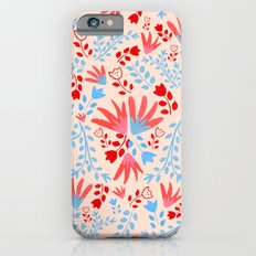 Tulip Pattern Slim Case iPhone 6s