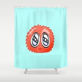 Alien Herbert Sponge Face Cartoon Shower Curtain