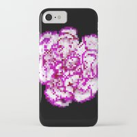 8bit iPhone & iPod Cases featuring 8BIT flower by Alfredo Lietor