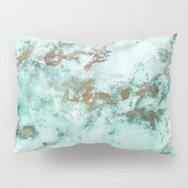 MARBLE - INKED INCEPTION - GOLD & ICE Pillow Sham