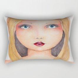Bella SASS Girlz - Brandi - SASS = STRONG and SUPER SMART Rectangular Pillow