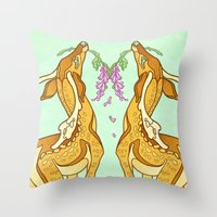 casablanca Throw Pillows featuring Casablanca by CanisAlbus