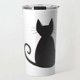 Cat Silhouette Travel Mug