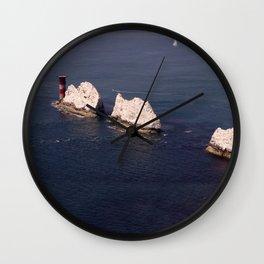 The Needles Wall Clock