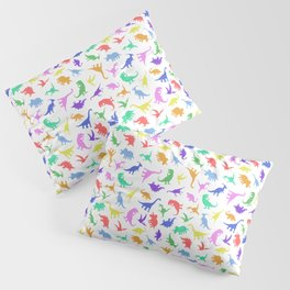 Fun Dinosaur Pattern Pillow Sham