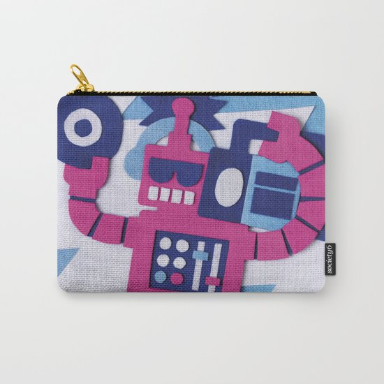 Stereo Bot Carry-All Pouch