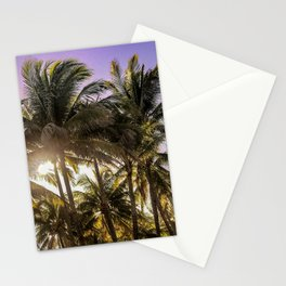 PURPLE AND GOLD SKIES Stationery Cards