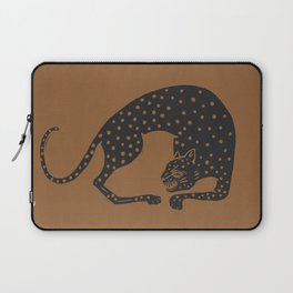 Blockprint Cheetah Laptop Sleeve