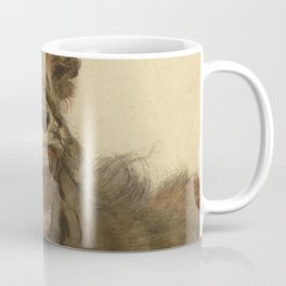 Cornelis Saftleven - A Lion Snarling Coffee Mug