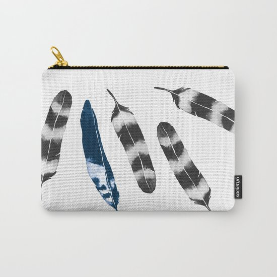 Feather Drift Carry-All Pouch