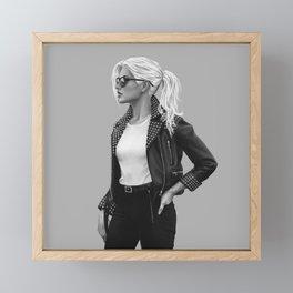 Felicia Hardy 3 Framed Mini Art Print