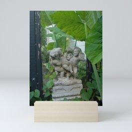 Cherubs at Play in the Garden Mini Art Print