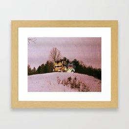 My Neighbor Totor o (Burnsville NC)  Framed Art Print