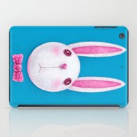rabbit iPad Cases featuring Rabbit by Lime