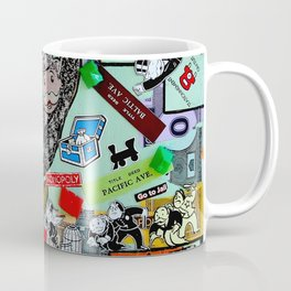 Vintage Monopoly Game Memories Coffee Mug