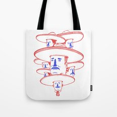 The Mariachi Band Tote Bag