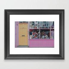 London colours Framed Art Print