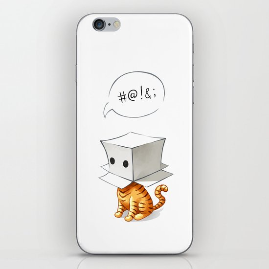 Cat in the Box 2 iPhone & iPod Skin
