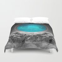 not all who wander Duvet Covers featuring Not All Those Who Wander by soaring anchor designs