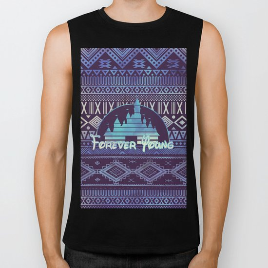 forever young Biker Tank