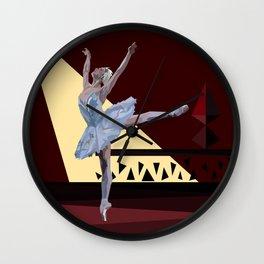 'Swan Lake Ballerina' Wall Clock