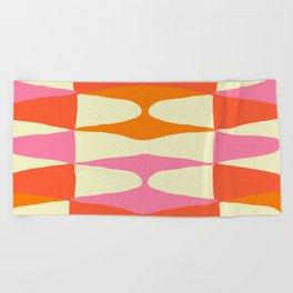 Zaha Sixties Beach Towel