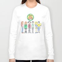 daria Long Sleeve T-shirts featuring Daria and Friends by Monique Cutajar