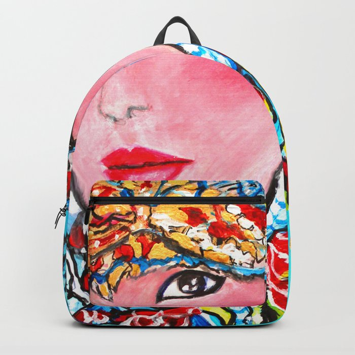 LUNA #society6 #decor #buyart My artwork is featured in MagCloud, Pink Panther Magazine, issue 25 Backpack