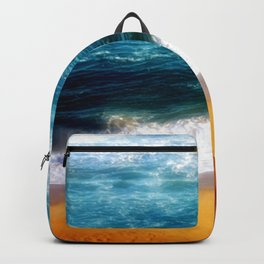 Beach at Sunset Backpack