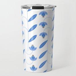 Spring Blues - Lilies Travel Mug