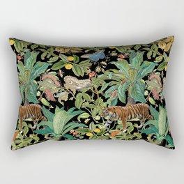 TIGER IN THE DARK JUNGLE Rectangular Pillow