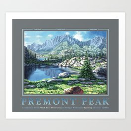 Fremont Peak Art Print
