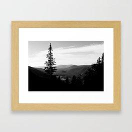 Guanella Pass Framed Art Print