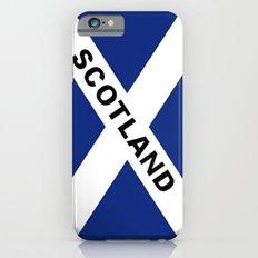 Flag of Scotland iPhone 6 Slim Case