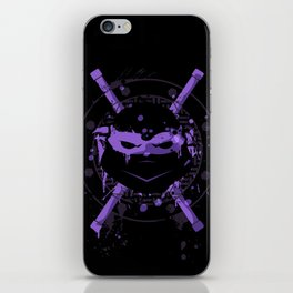 Donatello Turtle iPhone Skin