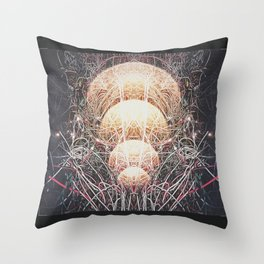 Intention Wired Throw Pillow
